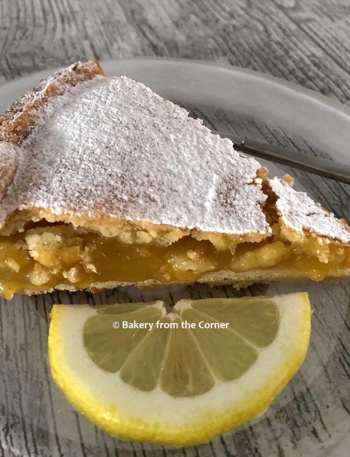 Italiaanse citroentaart (Torta al Limone)