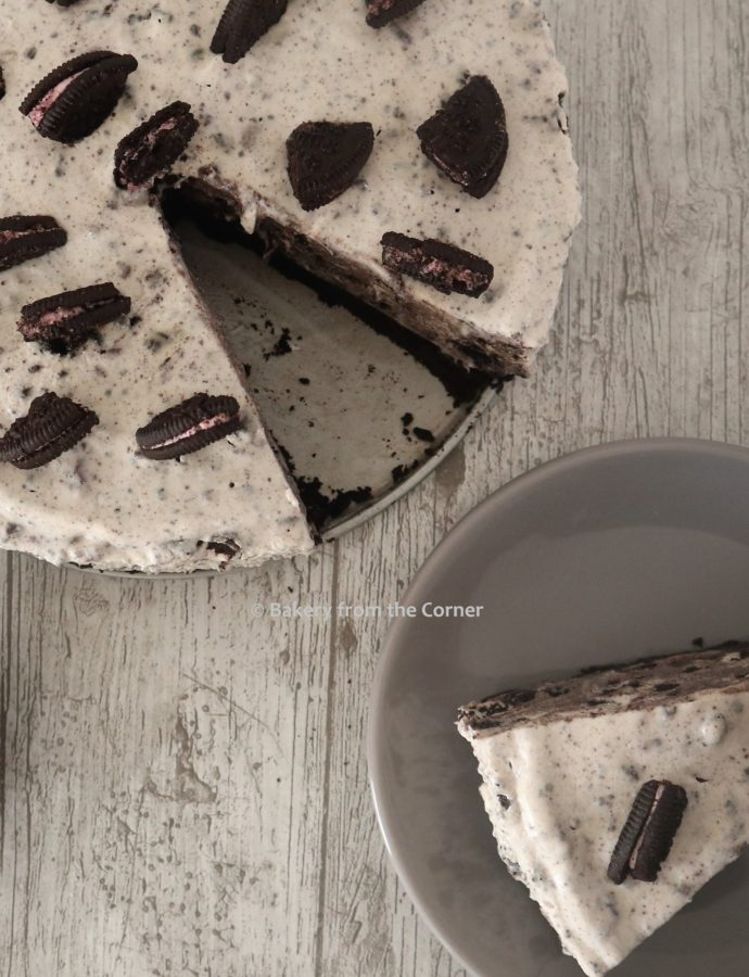 Strawberry Oreo Cheesecake (No Bake)