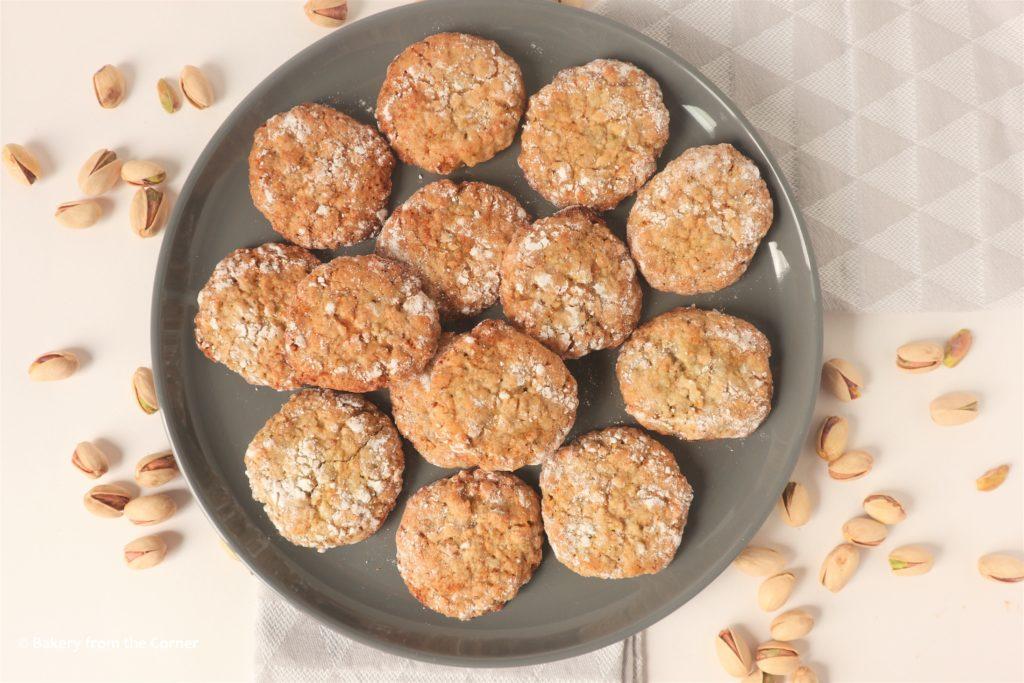 Pistache koekjes