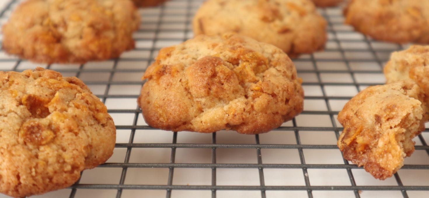 Cornflakes Crumble Cookies