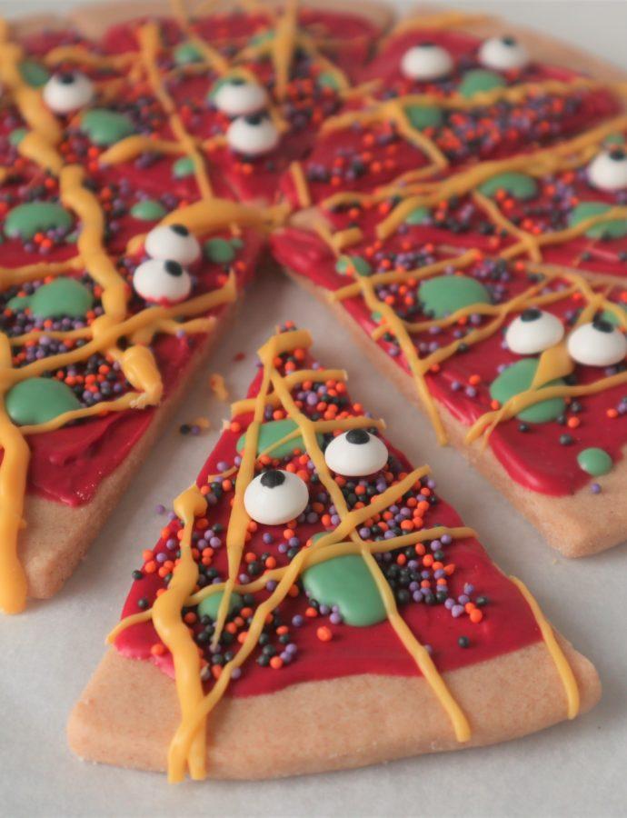 Hoe maak ik een Halloween Pizza Cookie?