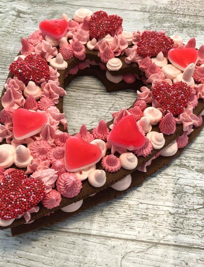 Bakken met je kinderen voor Valentijn.