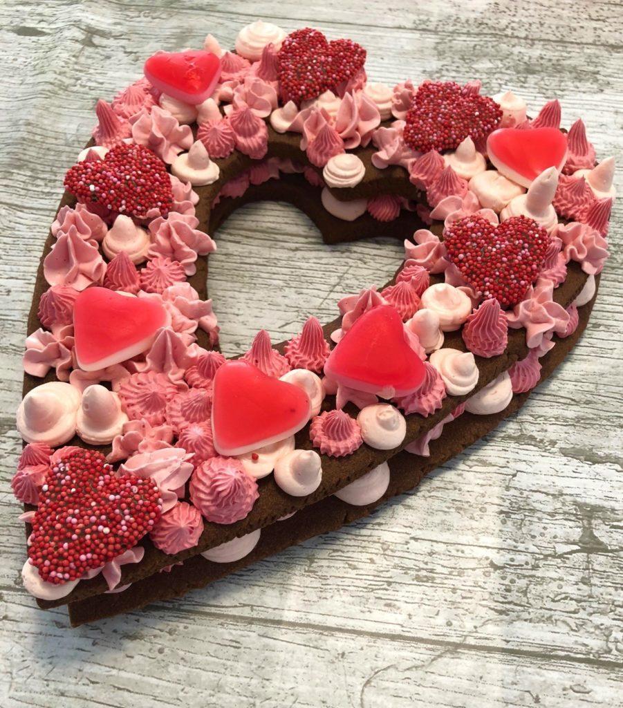 Bakken met je kinderen voor Valentijn (Cookie Cake)
