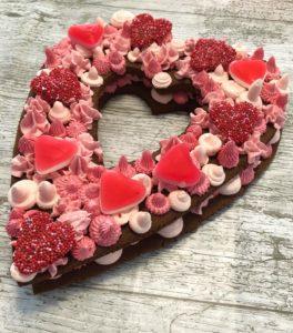 Valentijns Cookie Cake